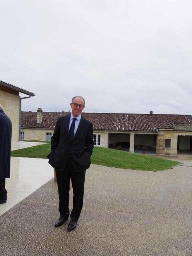 画像: 「シャトー・ラフィット・ロートシルト」の新CEO、ジャン・ギョーム・プラッツ氏