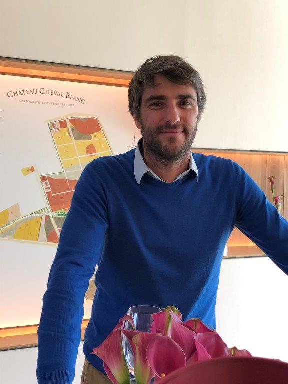 画像: 「シャトー・シュヴァル・ブラン」醸造責任者のピエール・オリヴィエ・クルーエ氏