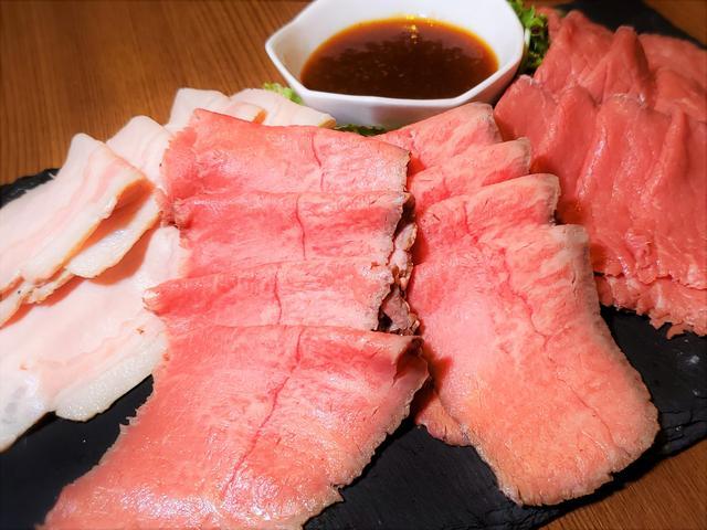 画像: 肉盛り食べ放題