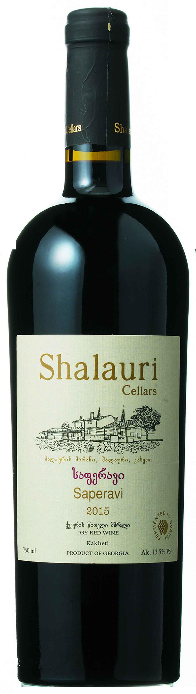 画像: 『サペラヴィ 2015年』 生産者:シャラウリ・ワイン・セラーズ 生産地域:カヘティ 品種:サペラヴィ100% 価格:4200円(税別) 輸入元:㈱モトックス