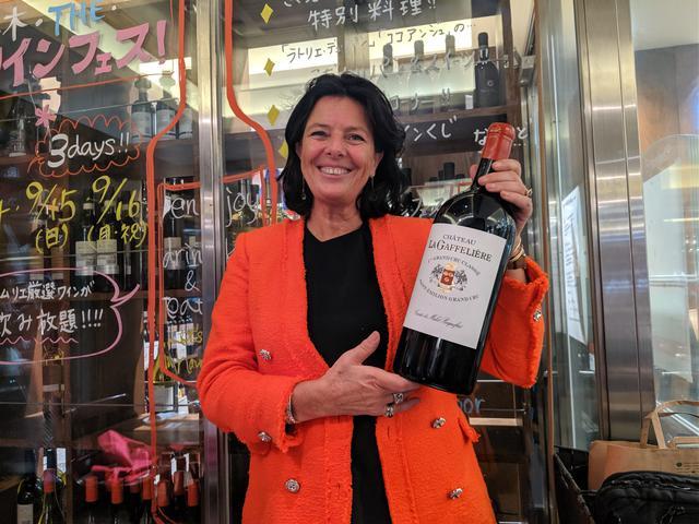 画像: 「シャトー・ラ・ガフリエール」 オーナーのベランジェール・ド・マレ・ページュさん 1998年/2012年 1998年ヴィンテージは「カベルネ・フランの比率を上げたことにより、まろやかでやさしいエレガントなワインになりました」と自信作を披露した。