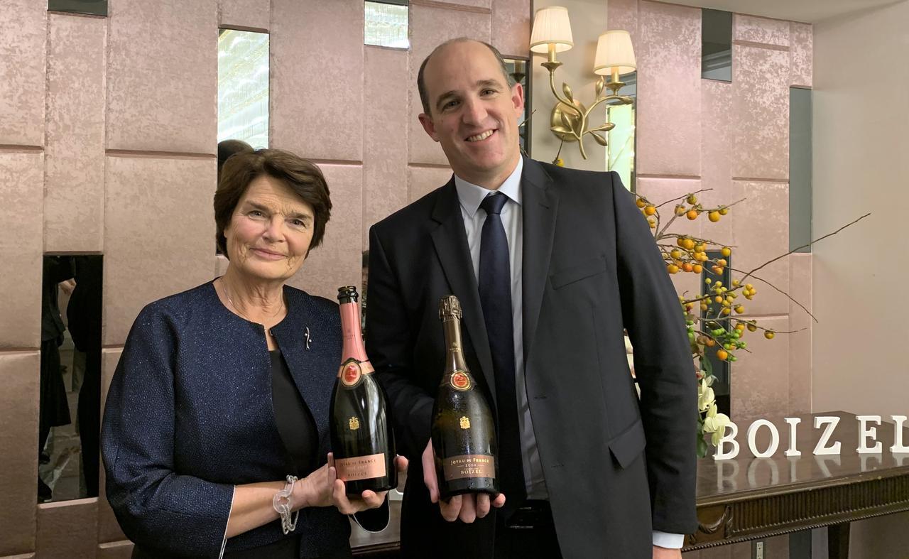画像: 5代目当主のエヴリン・ロック=ボワゼルさんとフロラン・ロック=ボワゼル氏(代表取締役CEO)