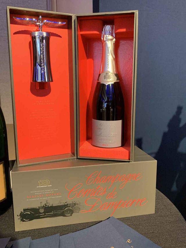 画像: シャンパーニュ 『コント・ド・ダンピエール』が、イギリスの高級車「ベントレー社」の100周年限定キュヴェを発売!