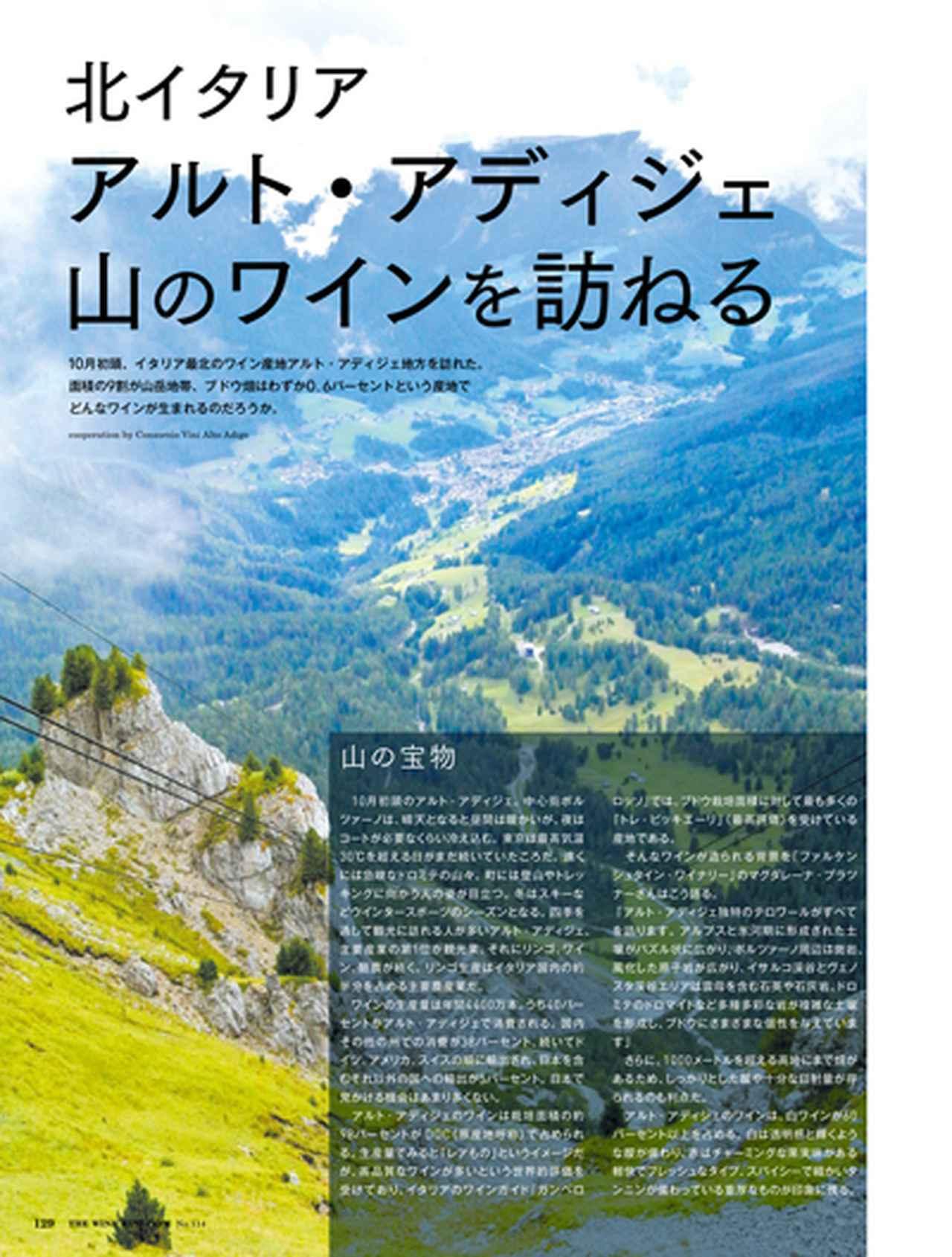 画像: 【現地取材】北イタリア アルト・アディジェ 山のワインを訪ねる