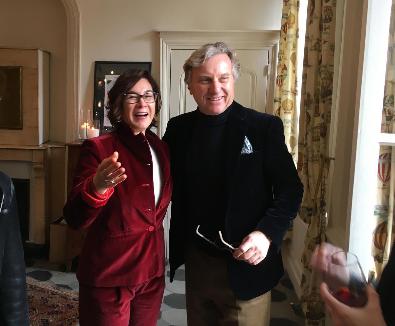 画像: ナタリー・ボワセさんとジャン・フランソワ・キュリ氏