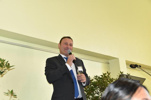 画像: 「第147回 ブルゴーニュ・グランヴァン祭り」主催団体の「ブルゴーニュ栽培家組合」ティエボー・ユベール会長