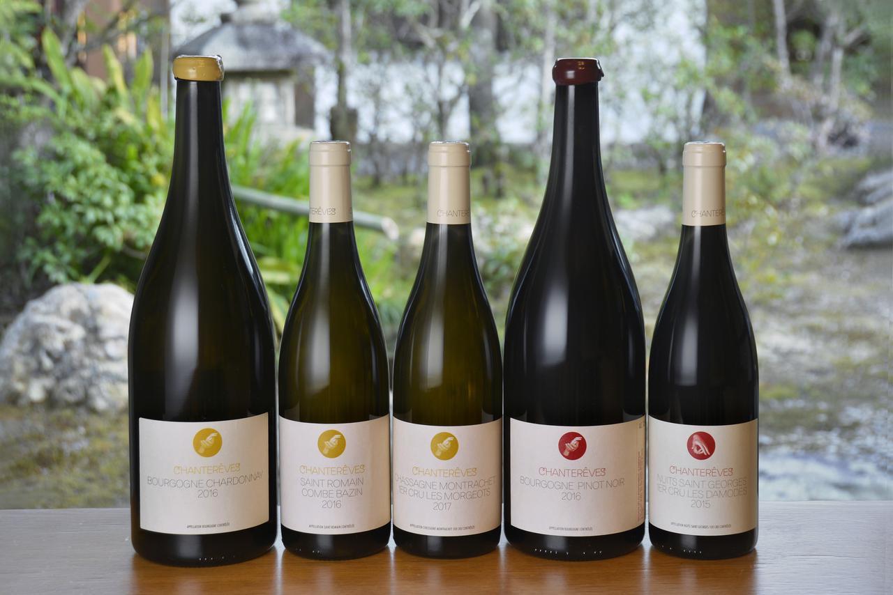 画像: ディナーで供された「シャントレーヴ」のワイン