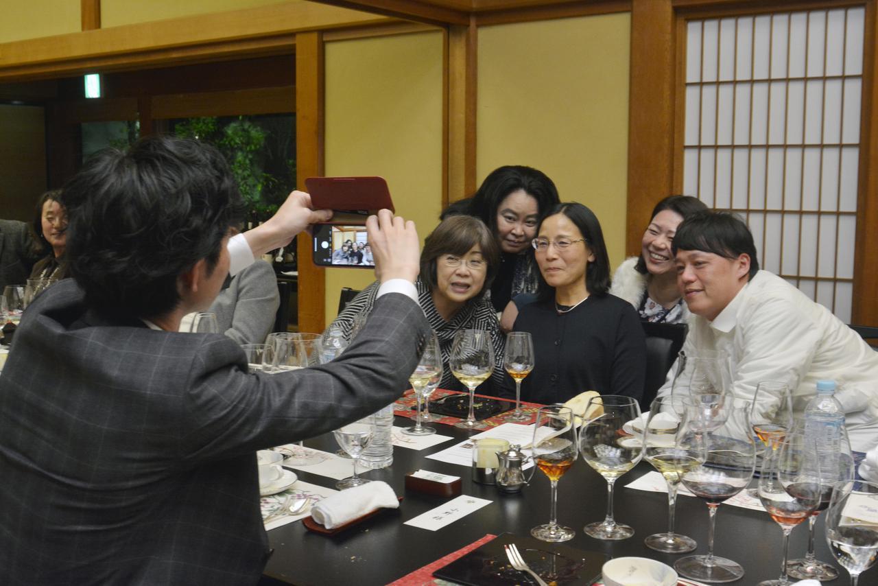 画像: 「シャントレーヴ」と 「葛城 ホテル 北の丸」の饗宴を終えて