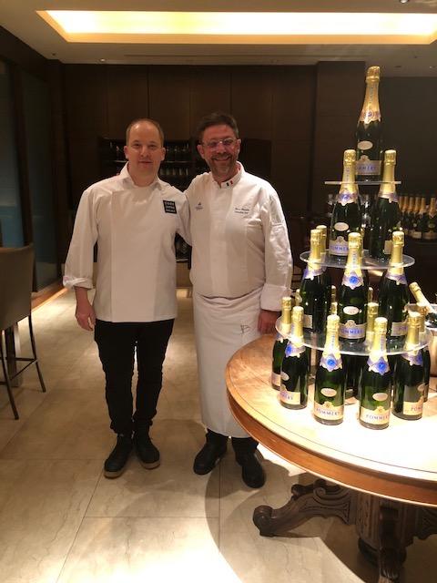 画像1: 有名シェフ、ブルーノ・メナール氏の料理とポメリーの夢のコラボレーション
