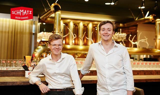 画像: 「SCHMATZ」の共同代表を務める2人の若き創業者。クリストファー・アックス(右)とマーク・リュッテン(左)