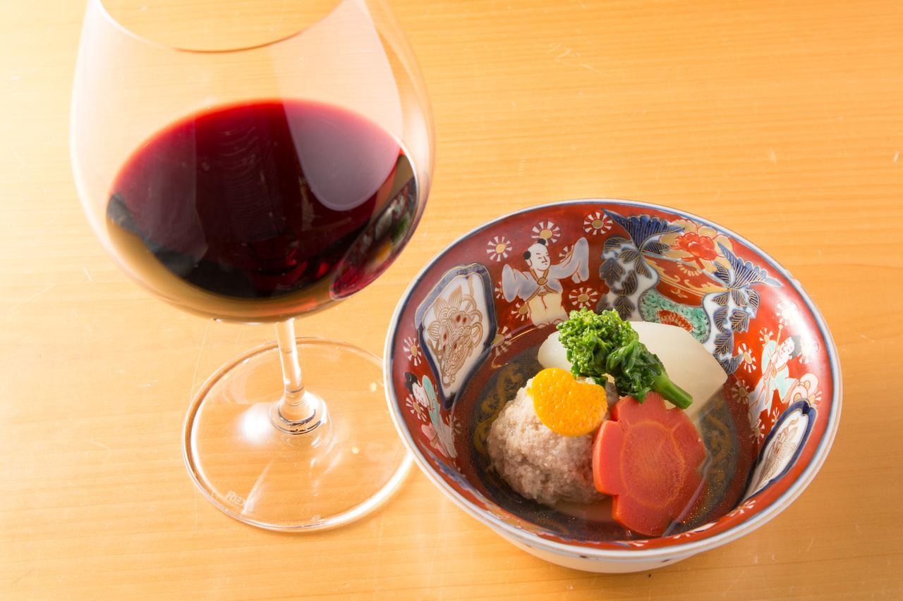 画像: 聖護院大根と大山鶏団子 炊き合わせ 柚子がけ
