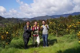 画像: 「宮崎ひでじビール」代表・永野時彦社長(左)、「緑の里りょうくん」田中良一氏(中央)、「CRAFT X」長谷川氏(右)
