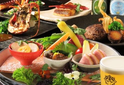 画像: コース料理のイメージ