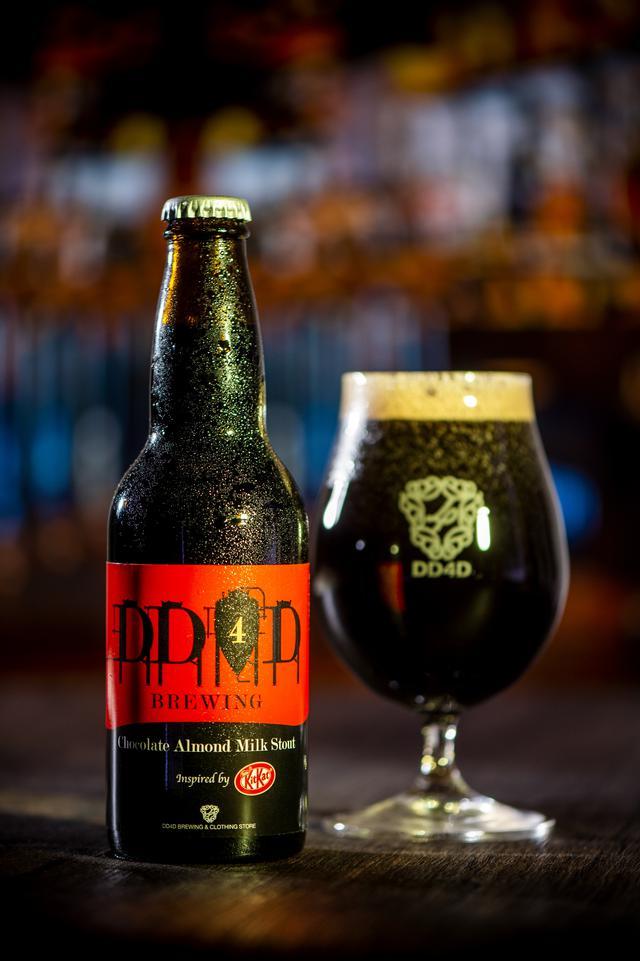画像: 「DD4D BREWING」とコラボしたオリジナルクラフトビール「Chocolate Almond Milk Stout  Inspired by KITKAT」