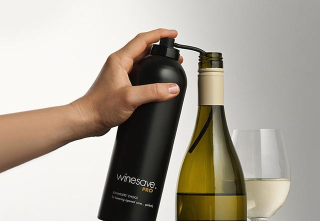 画像: 『アルゴン・ワインセーヴ・プロ』 ごく少量で、ワインをはじめ飲料や食料の酸化防止に使える
