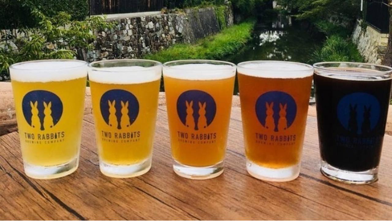 画像: 直営のビアカフェ「Rabbit Hutch」では同社の樽生ビールと地元の食材を使った料理が楽しめる(画像はクラウドファンディングサイトより)