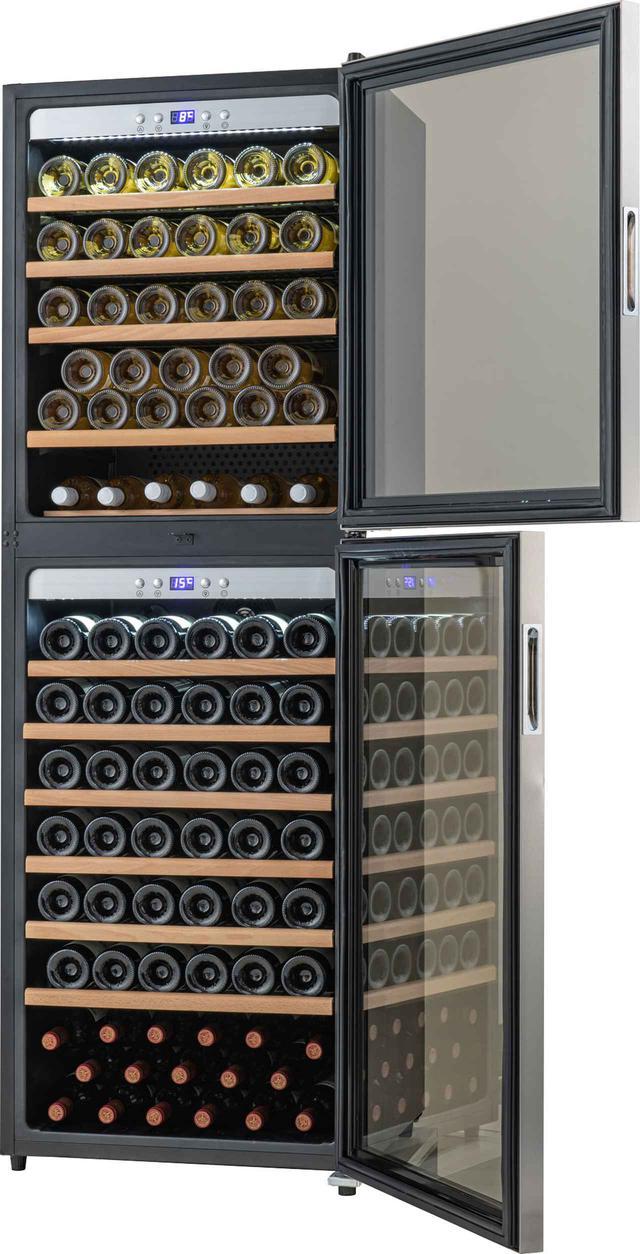 画像: 2ドアで上下・完全セパレート! 適温の異なるワインを1台で管理