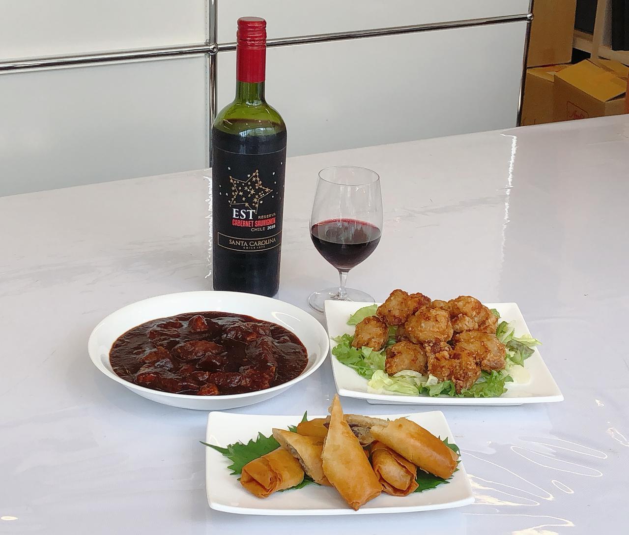 画像: エスト レセルヴァ カベルネ・ソーヴィニヨンに合わせた料理