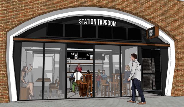 画像: 有楽町店限定を含む16種類のビールを備え、テイクアウトも可能