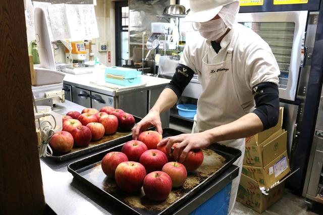 画像2: 伊那の「訳あり」リンゴを合計2,500~3000個も使用
