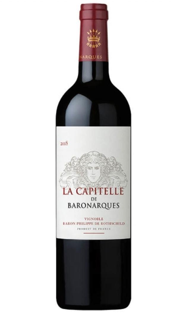 画像: 『ラ・キャピテル・ド・バロナーク』は約50%が地中海系品種。2015年はシラー32%、マルベック18%、ボルドー系品種が50%。熟成に「シャトー・ムートン・ロスチャイルド」で使った樽を使用。セカンドワインながら繊細かつ濃縮した「ムートンスタイル」が感じられる