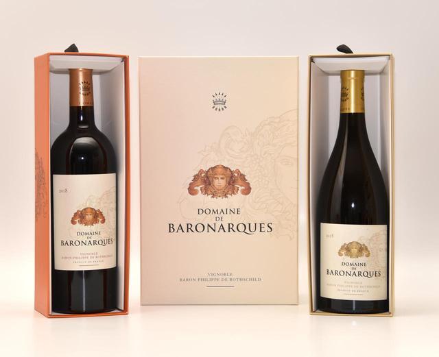 画像: 2018年産は「バロン・フィリップ・ド・ロスチャイルド」社が「ドメーヌ・ド・バロナーク」を買収して20周年の記念ボトルとなる