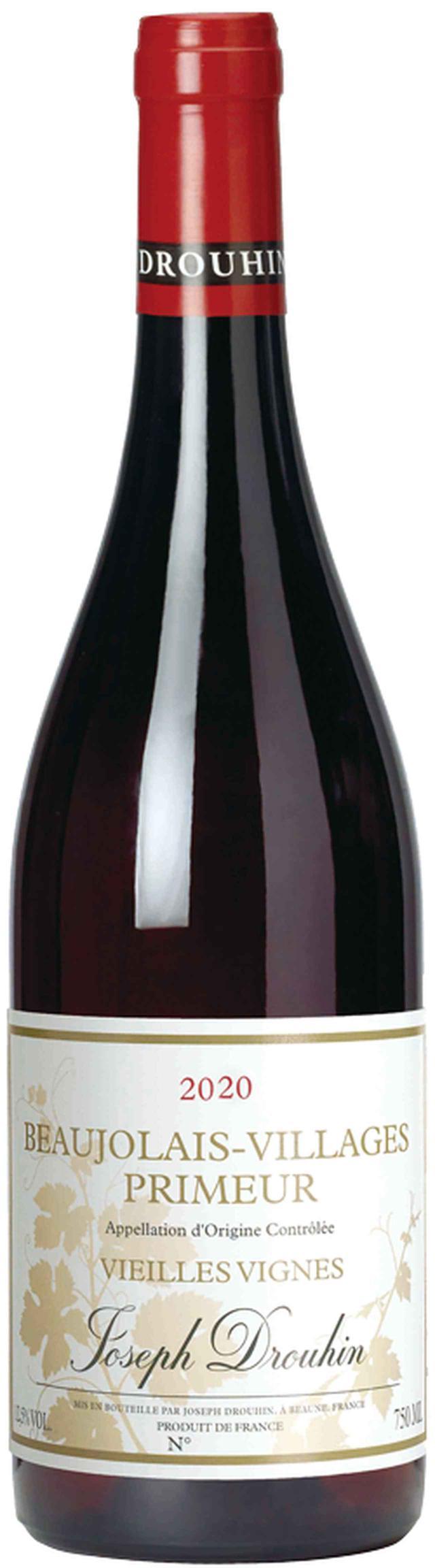 画像: 『ボジョレ・ヴィラージュ・ヌーヴォー ヴィエイユ・ヴィーニュ 2020年』 希望小売価格:4000円(税別) 輸入元:三国ワイン