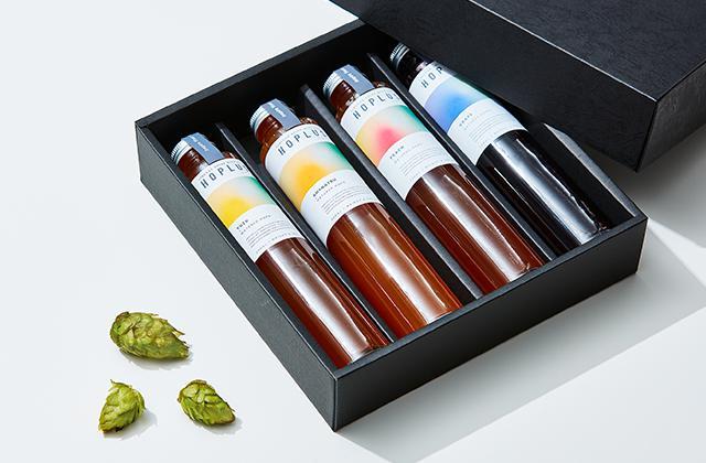 画像2: ゆず、甘夏、桃、ぶどう。ホップの苦味と相性の良い4種のフレーバー