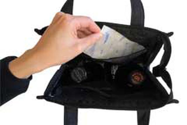 画像: 内側は、保冷性にすぐれたアルミ素材を使用 2カ所あるポケットに保冷剤を入れることで、保冷機能が持続 上部のチャックを閉めることでも保冷効果が持続できる