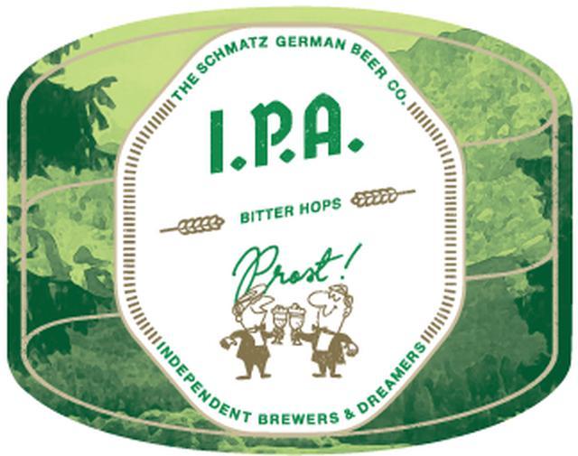 画像: 「I.P.A」 ALC: 6.5% | IBU: 48 ビアスタイルは「ジャーマンIPA」。 ※IPAは「インディア・ペール・エール」の略、18世紀にイギリスの植民地だったインドにビールを送るため、長い航海でビールが痛まないようにホップを多めに入れて造られた苦みとコクが特徴のビール