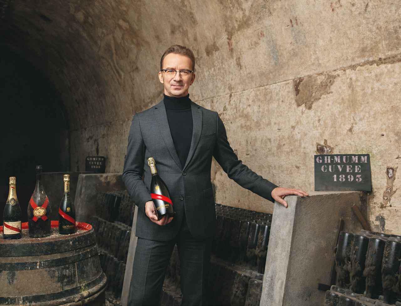 画像: 「メゾン マム」最高醸造責任者にローラン・フレネ氏お披露目テイスティングを開催