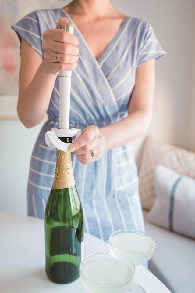 画像: 開栓時そのままの、泡立ちのフレッシュな風味を維持