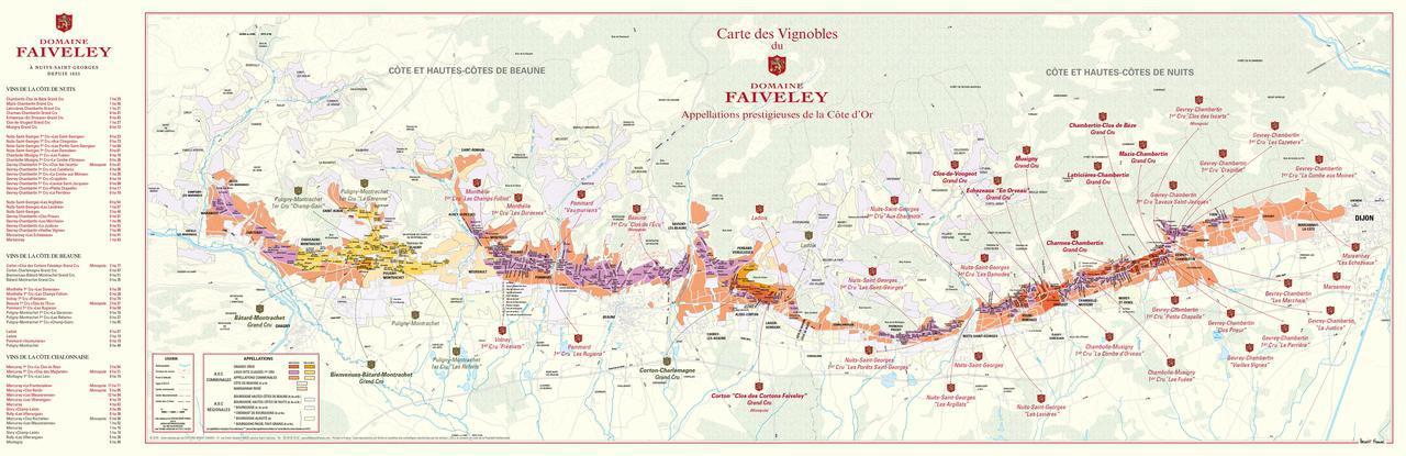 画像: フェヴレが耕作する畑の地図