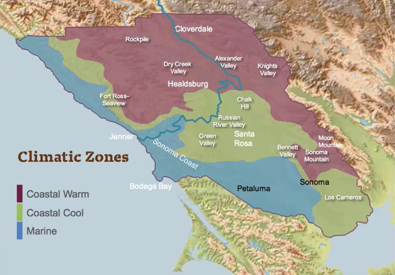 画像: 【カリフォルニア】ソノマ・カウンティー6つのAVAのテロワールを知るオンラインセミナーリポート