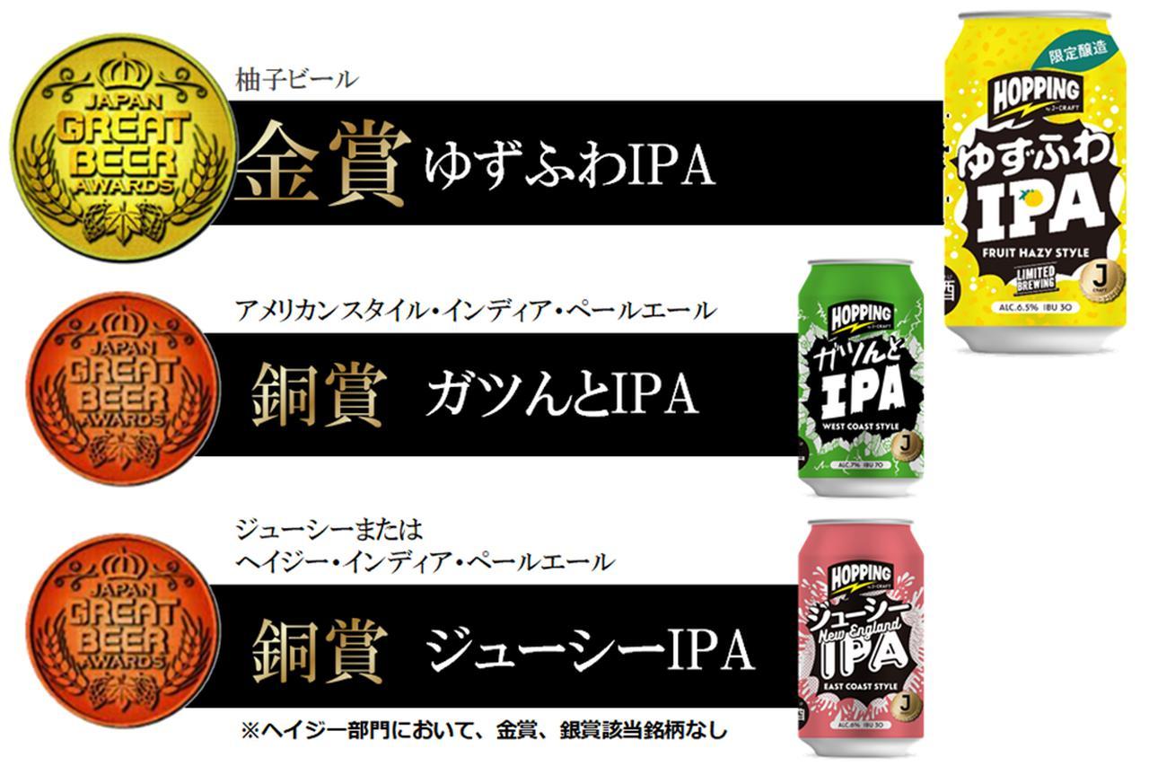 画像2: 「Japan Great Beer Awards 2021」で金賞を獲得!