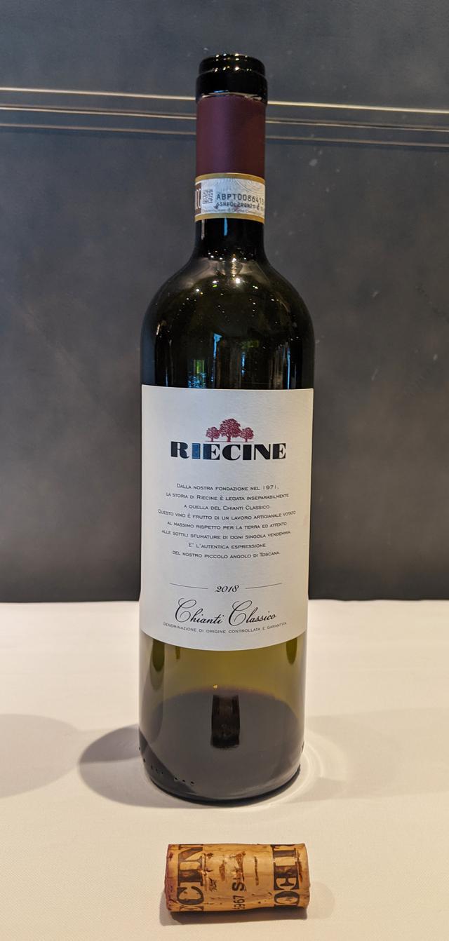画像: 『Chianti Classico Riecine 2018』 Riecine