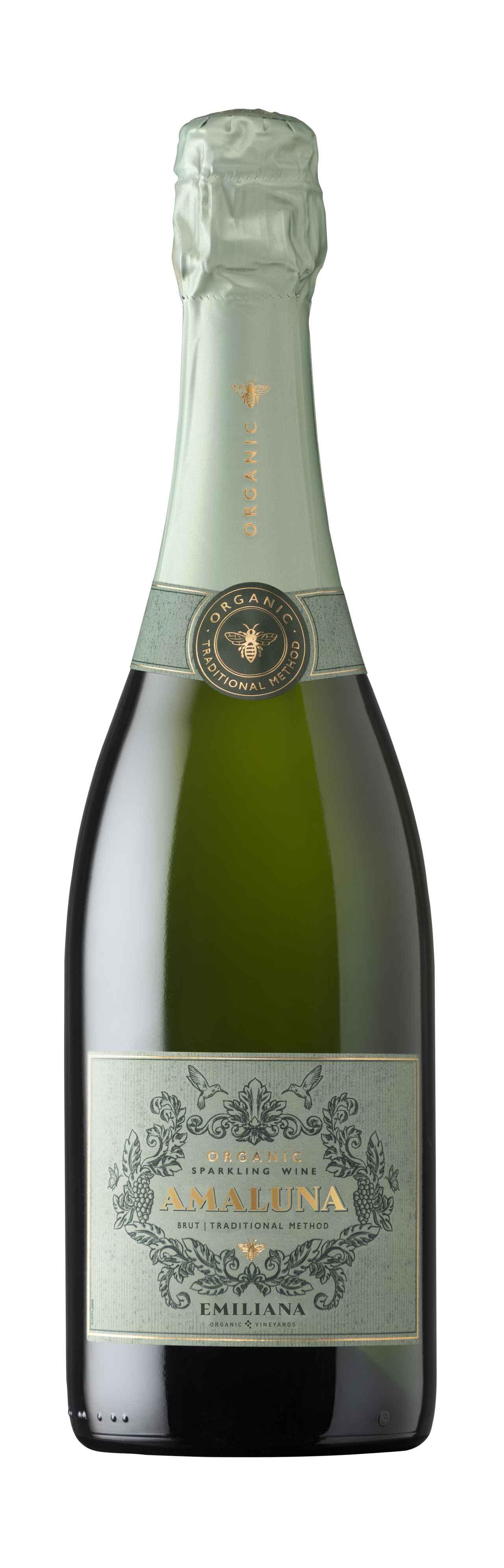 画像: 『アマルナ・オーガニック・スパークリング・ワイン ブリュット NV』(旧『エミリアーナ・オーガニック・スパークリング・ワイン ブリュット NV』) 生産者:エミリアーナ・ヴィンヤーズ 生産地:チリ/カサブランカ・ヴァレー 品種:シャルドネ80%、ピノ・ノワール20% 希望小売価格:2178円(税込)
