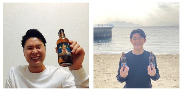 画像: 枝廣一輝さん(左)と水畑順太さん(右)。二人は高校の同級生