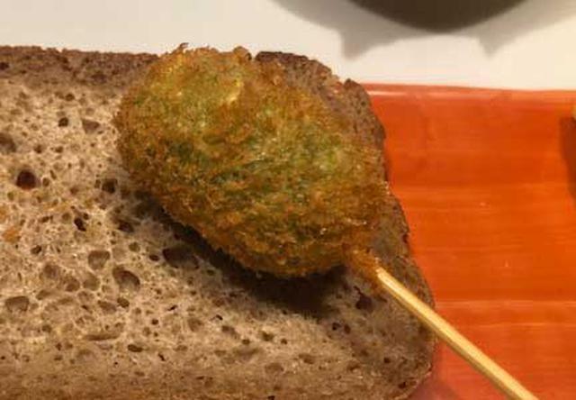 画像: リピーターが多いえんどう豆のコロッケ