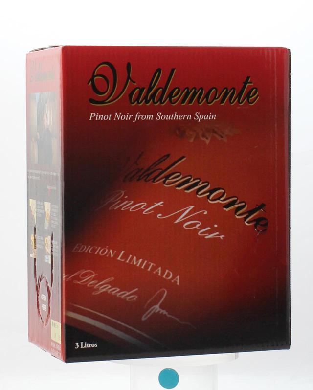 画像: 『バルデモンテ ピノノワール NV』 生産地:スペイン/ヴィノ・デ・ラ・ティエラ・カステーリャ 品種:ピノ・ノワール100% 希望小売価格:3L:2728円(税込)