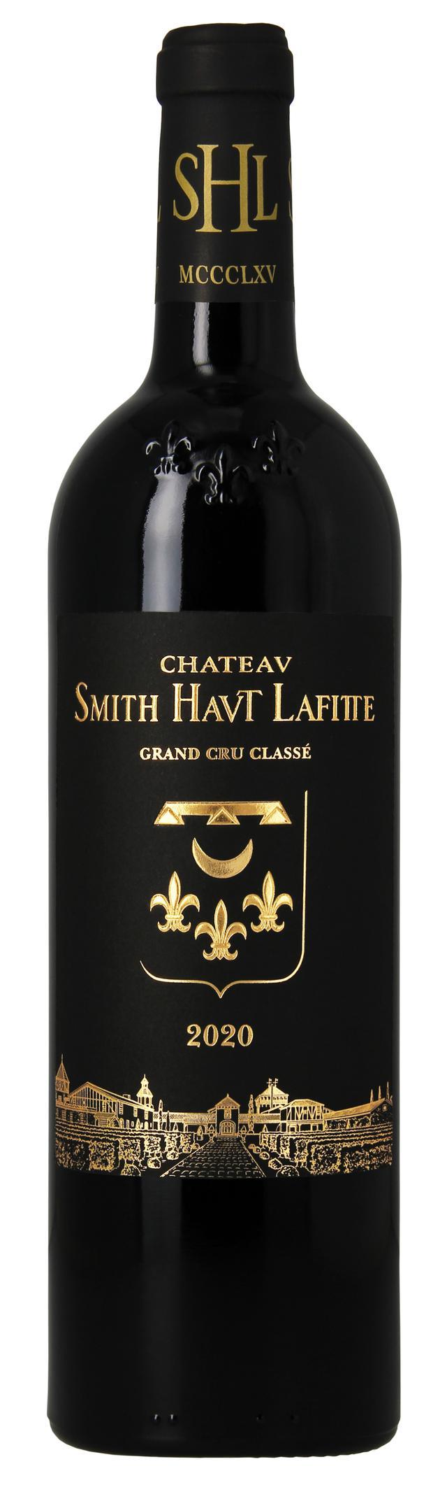 画像: シャトー・スミス・オー・ラフィット 2020年ヴィンテージ 赤ワインのラベル