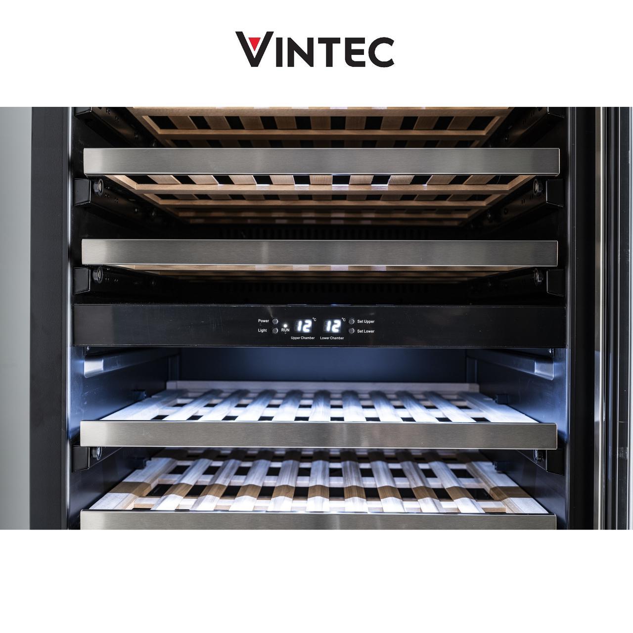 画像1: 「ヴァンテック」1台で2温度帯を管理できるワインセラー登場! 7月30日発売