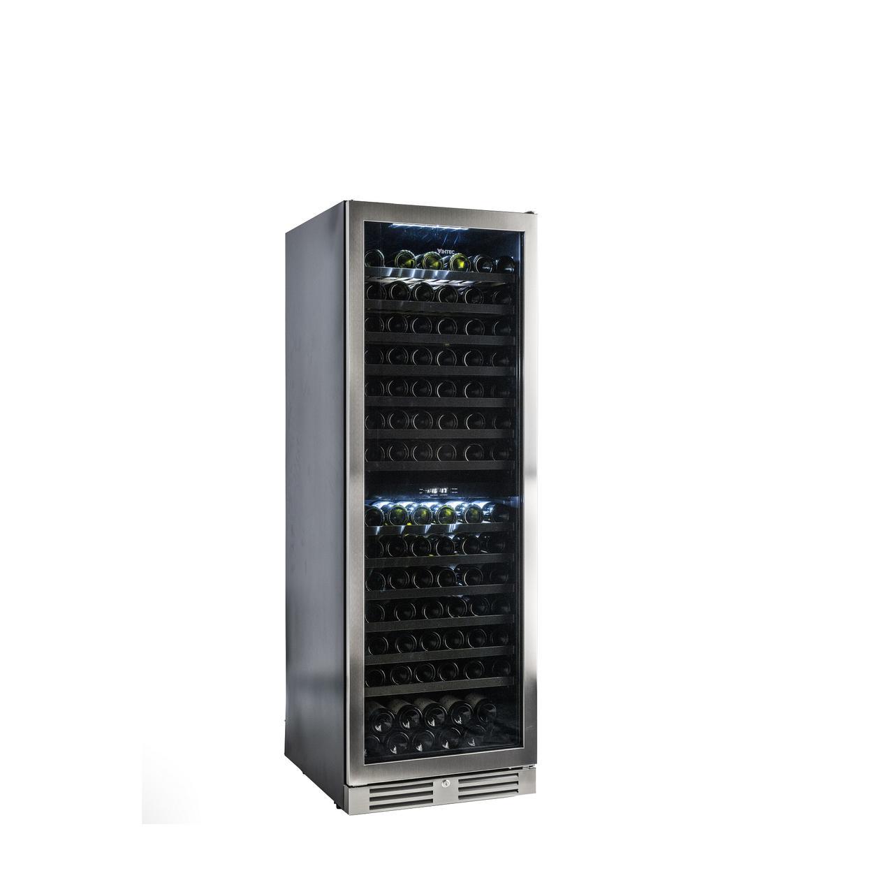 画像: 「ヴァンテック」の2温度帯ワインセラー 『VD154』