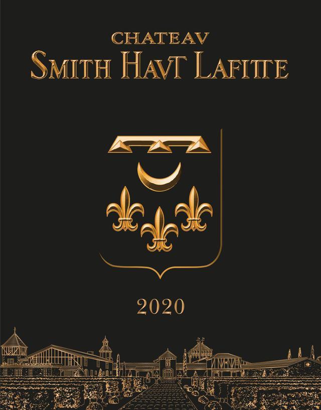 画像: シャトー・スミス・オー・ラフィット 2020年ヴィンテージ 白ワインのラベル