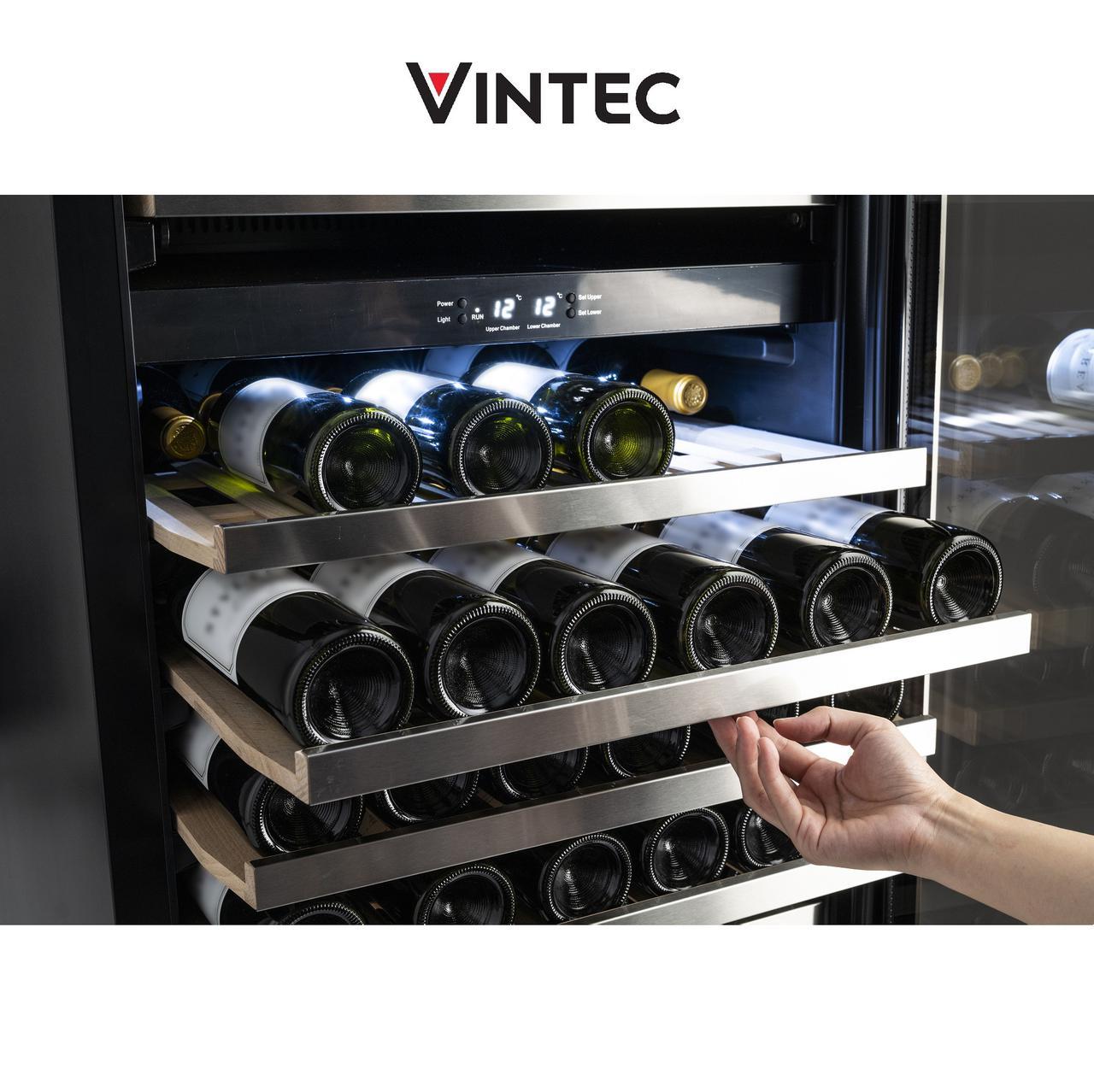 画像2: 「ヴァンテック」1台で2温度帯を管理できるワインセラー登場! 7月30日発売