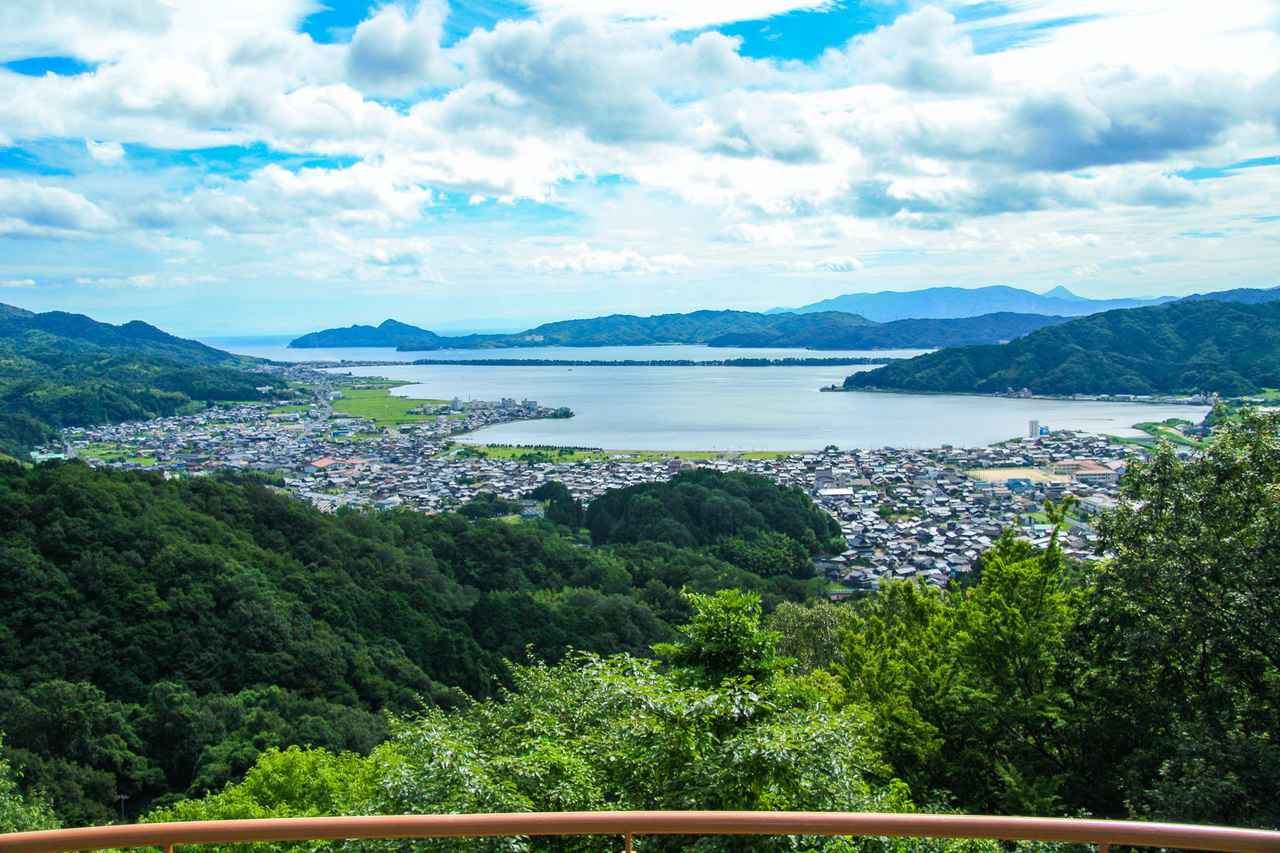 画像: 与謝野町から見える日本三景・天橋立(画像はクラウドファンディングのプロジェクトから)