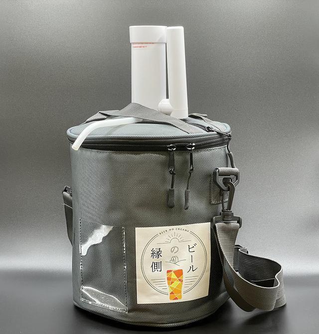 画像: (ビールの縁側1)3L用保冷バッグ-ビールの縁側