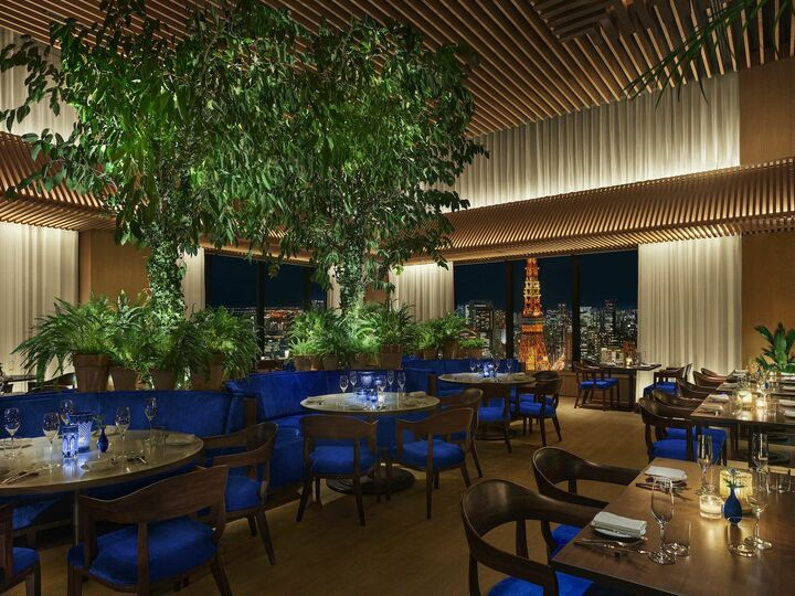 画像: 東京エディション虎ノ門The Blue Roomが『ヴィーガン テーブル』を展開