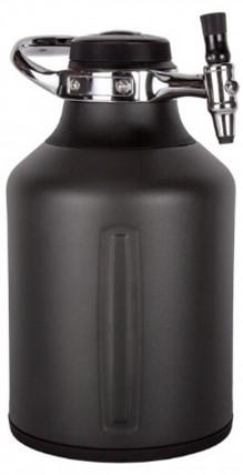 画像: UKEG GO 128 Tungsten(タングステン) 容量: 128オンス(3,785ml) サイズ: 170 x 193 x 297mm 重量: 1.99kg CO2カードリッジ16g×2個付販売価格22,000円(税込) 販売価格22,000円(税込)
