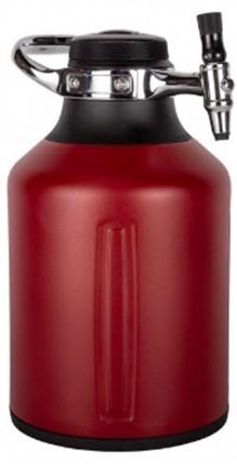 画像: UKEG GO 128 Chili(チリ) 容量: 128オンス(3,785ml) サイズ: 170 x 193 x 297mm 重量: 1.99kg CO2カードリッジ16g×2個付販売価格22,000円(税込) 販売価格22,000円(税込)